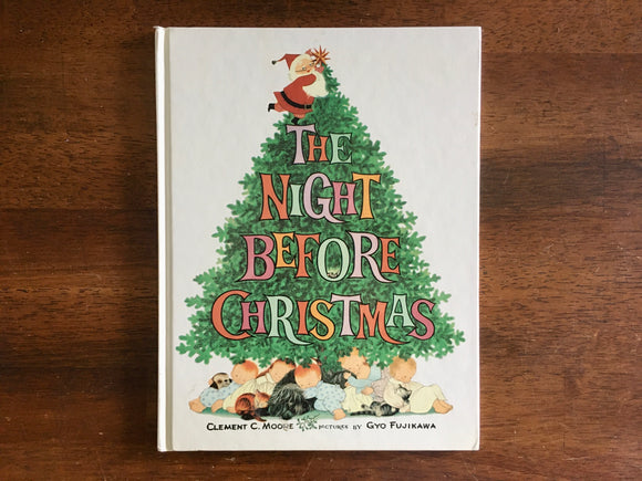 The Night Before Christmas by Clement C. Moore, Illustrated by Gyo Fujikawa, HC