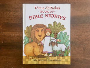 Tomie dePaola's Book of Bible Stories, New International Version, Vintage 1990, HC