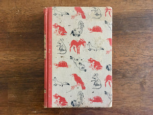 Aesop's Fables, Illustrated by Fritz Kredel, Illustrated Junior Library, Vintage 1947