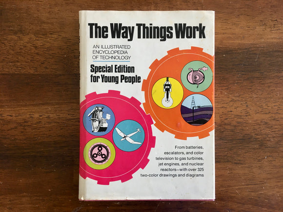 The Way Things Work, Special Edition for Young People, Vintage 1973, Hardcover