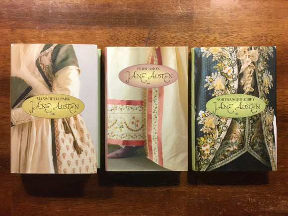 Jane Austen 3-Book Set, Mansfield Park, Persuasion, Northanger Abbey