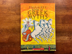 D'Aulaire's Book of Greek Myths by Ingri and Edgar Parin D'Aulaire, Illustrated