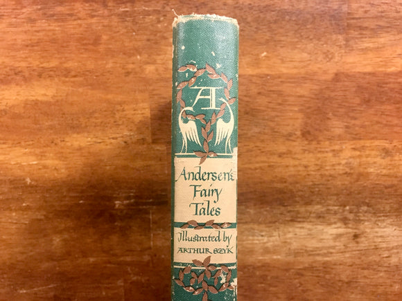 Andersen's Fairy Tales by Hans Christian Andersen, Illustrated by Arthur Szyk, Illustrated Junior Library, Vintage 1945, Hardcover Book