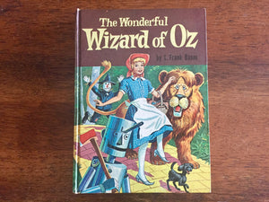 The Wonderful Wizard of Oz by L. Frank Baum, Hardcover Book, Vintage 1957, Illustrated
