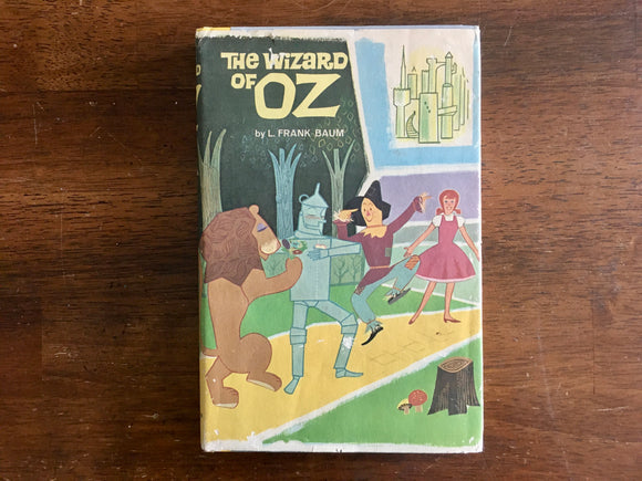 The Wizard of Oz by L Frank Baum, Illustrations by Leonard Weisgard, Vintage 1955