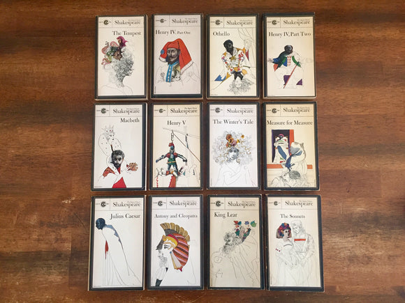 The Signet Classic Shakespeare, 12-book LOT