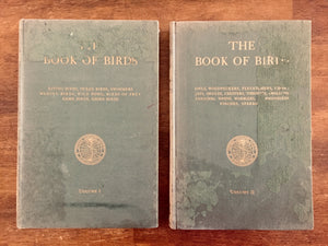 The Book of Birds, National Geographic Society, Vintage 1937, Hardcover Books, Illustrated