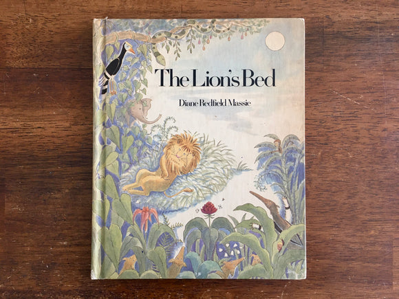 The Lion's Bed by Diane Redfield Massie, Vintage 1974, HC