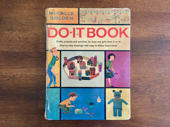 McCall's Golden Do-It Book, Adapted by Joan Wyckoff, Vintage 1960, HC