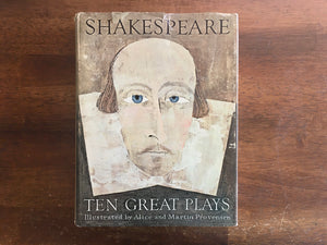 Shakespeare: Ten Great Plays, Illustrated by Alice and Martin Provensen, Golden Press