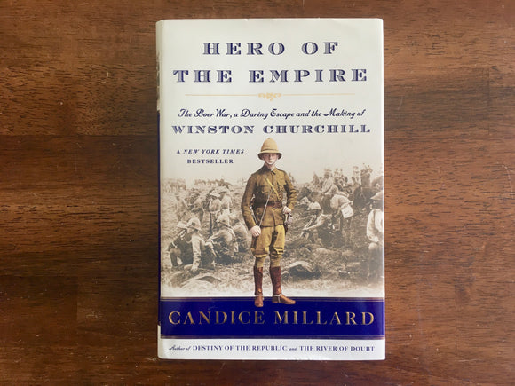 Hero of the Empire by Candice Millard, Signed, HC DJ
