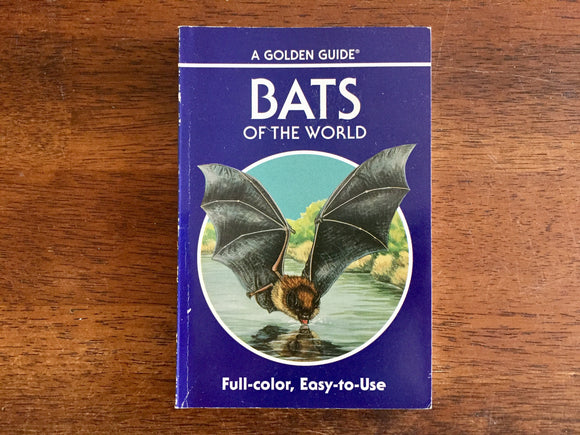 Bats of the World, A Golden Guide, Vintage 1994
