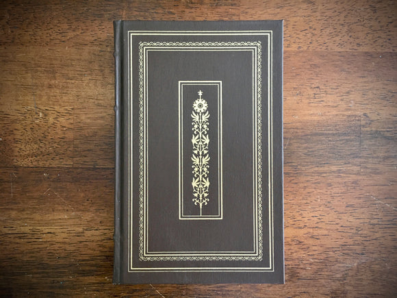 Rhetoric and On Poetics by Aristotle, Vintage 1981, Franklin Library, Illustrated