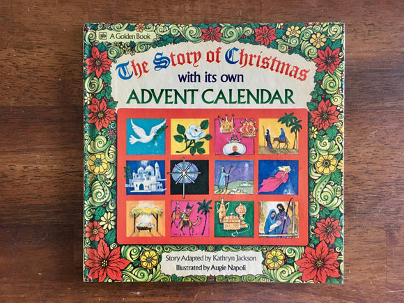The Story of Christmas, Advent, Adapted by Kathryn Jackson, 1974, Golden Press