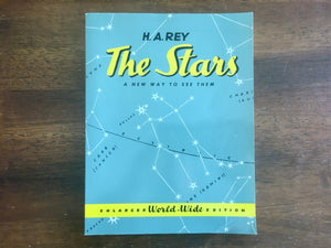 The Stars: A New Way to See Them by H.A. Rey, Enlarged World-Wide Edition