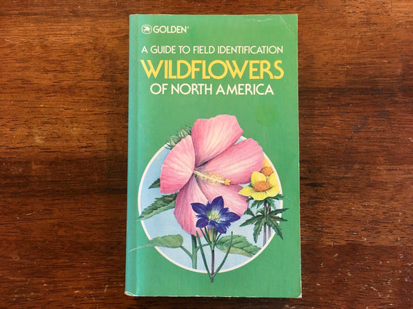 Wildflowers of North America, A Golden Guide, Vintage 1984