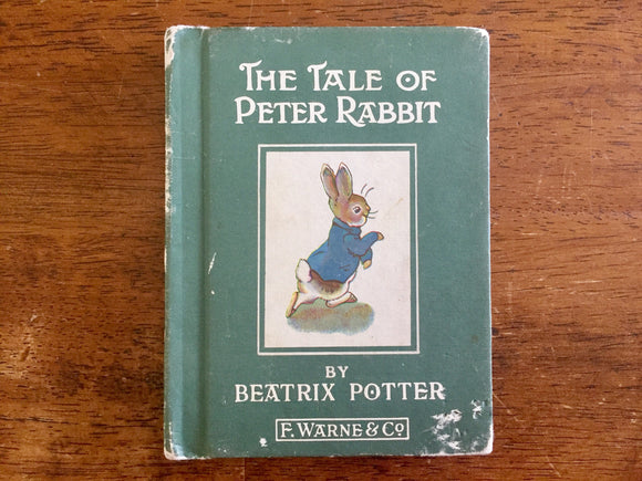The Tale of Peter Rabbit by Beatrix Potter, Miniature Hardcover Book, Vintage, Illustrated