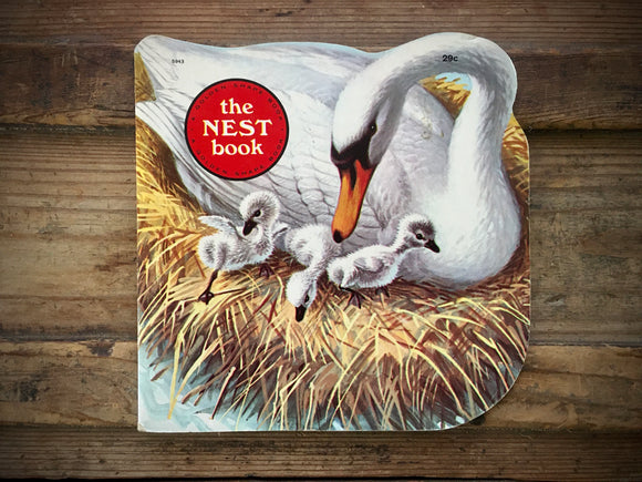 The Nest Book, Kathleen N. Daly, Illustrated by Jan Pfloog, Golden Shape, Nature