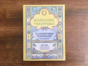 Nourishing Traditions by Sally Fallon, Softcover