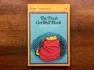 The Pooh Get-Well Book by Virginia H. Ellison, Vintage 1975