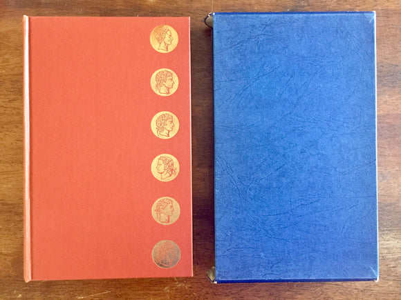 The Twelve Caesars translated by Robert Graves, The Folio Society, Vintage 1966, Illustrated