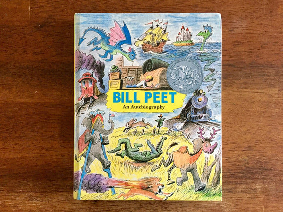 Bill Peet: An Autobiography, Vintage 1989, Hardcover Book, Illustrated
