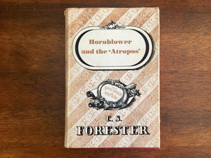Hornblower and the Atropos by C.S. Forester, Greenwich Edition, Vintage 1964, Hardcover Book with Dust Jacket