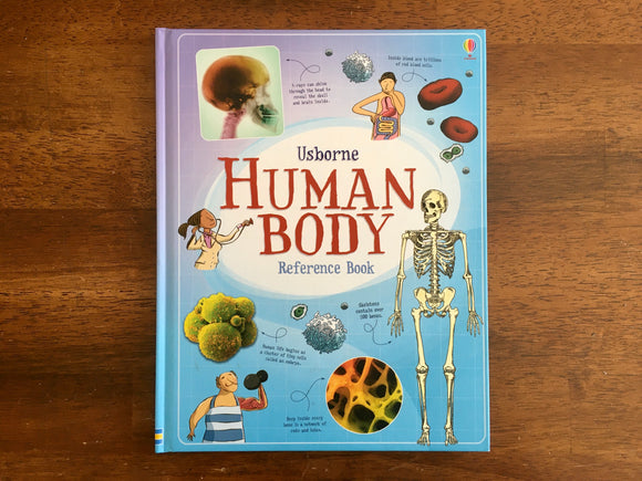 Usborne Human Body Reference Book, Science, Health, Anatomy
