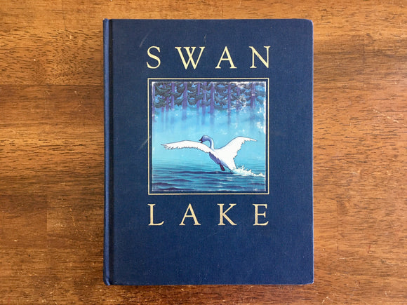 Swan Lake by Mark Helprin, Illustrated by Chris Van Allsburg, Signed, 1989