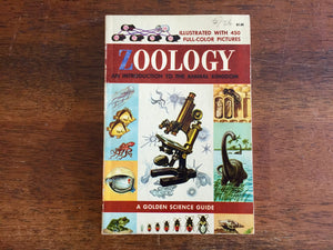 Zoology, A Golden Science Guide, Vintage 1958