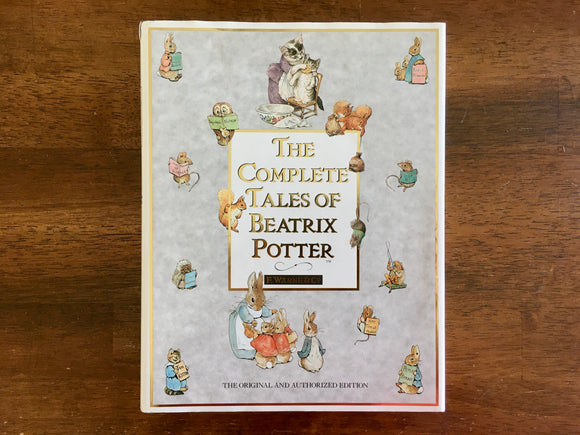 The Complete Tales of Beatrix Potter, Vintage 1989, HC DJ