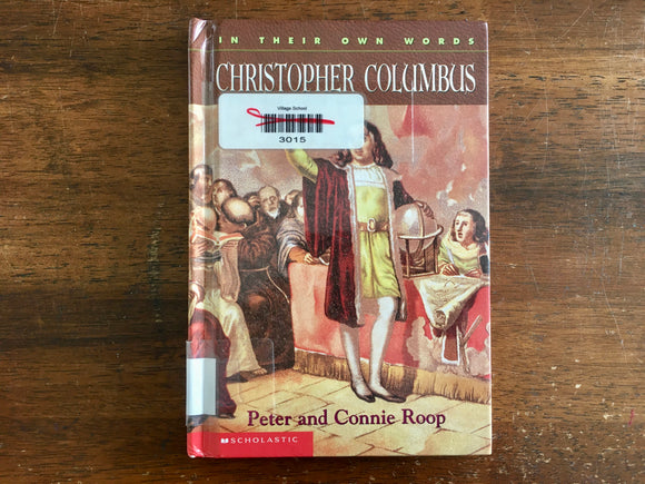 Christopher Columbus by Peter and Connie Roop, Hardcover, Illustrated