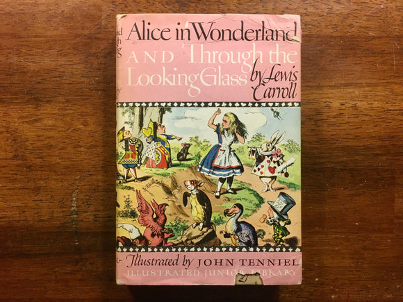 Alice in Wonderland and Through the Looking Glass by Lewis Carroll, Illustrated Junior Library, Vintage 1975