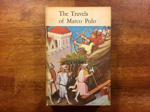 The Travels of Marco Polo, Orion Press, Hardcover Book, Dust Jacket, Vintage, Illustrated
