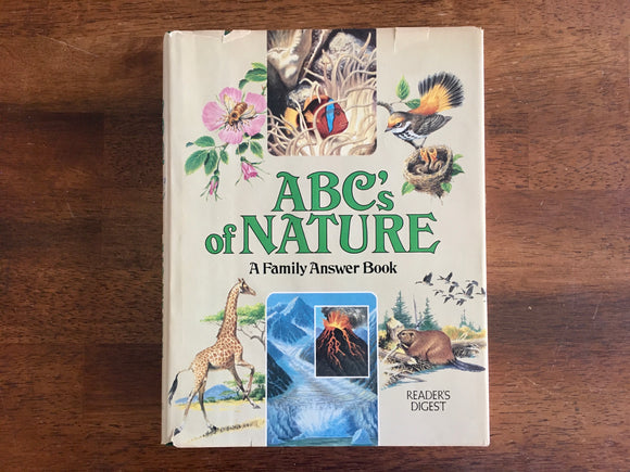 ABC's of Nature, Reader's Digest, Vintage 1984, Hardcover Book with Dust Jacket