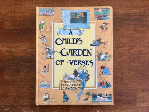 A Child's Garden of Verses by Robert Louis Stevenson, Charles Robinson Illustrated