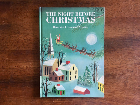 The Night Before Christmas by Clement C. Moore, Illustrated by Leonard Weisgard