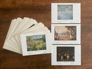 The University Prints, Boston, Art History, Famous Artwork Set, Vintage Pages