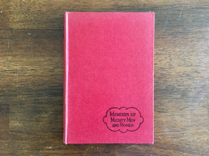 Fanny Crosby: The Sightless Songstress by J Reginald Casswell, Vintage 1957