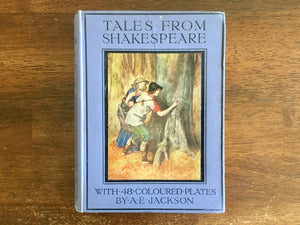 Tales from Shakespeare by Charles and Mary Lamb, Antique 1919, Illustrated by A.E. Jackson