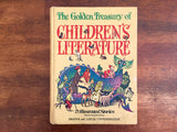 The Golden Treasury of Children's Literature, Bryna and Louis Untermeyer, Vintage 1972, Hardcover Book, Illustrated