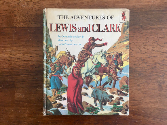 The Adventures of Lewis and Clark by Ormonde de Kay Jr., Step-Up Book, Vintage 1968