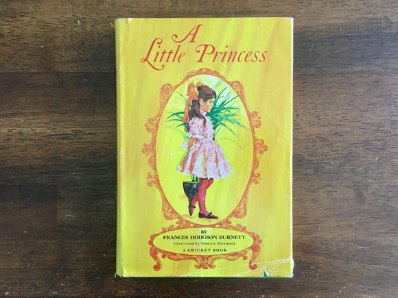 A Little Princess, Frances Hodgson Burnett, Illustrated by Stewart Sherwood, HC DJ