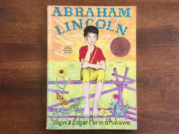 Abraham Lincoln by Ingri and Edgar Parin D'Aulaire