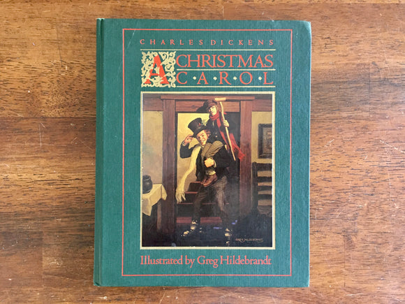 A Christmas Carol by Charles Dickens, Illustrated by Greg Hildebrandt, Vintage 1983