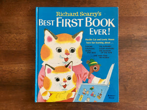 Richard Scarry's Best First Book Ever!, Vintage 1979