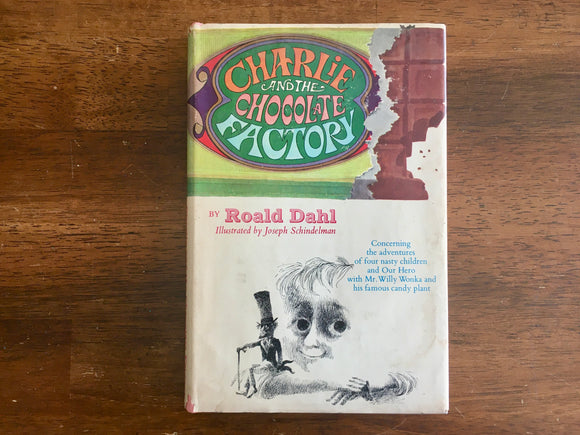 Charlie and the Chocolate Factory by Roald Dahl, 1964, Junior Deluxe Edition, HC DJ