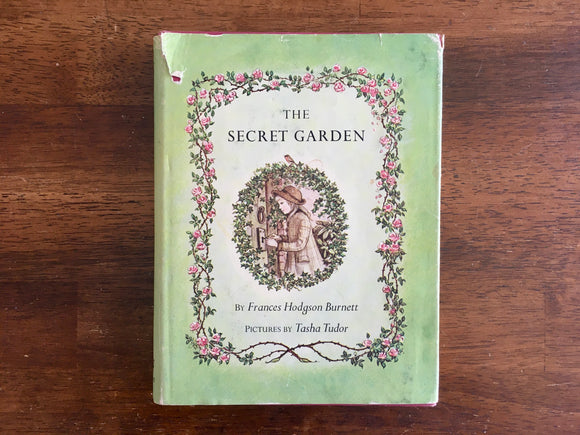 The Secret Garden by Frances Hodgson Burnett, Illustrated by Tasha Tudor, HC DJ
