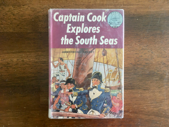 Captain Cook Explores the South Seas by Armstrong Sperry, Landmark Book