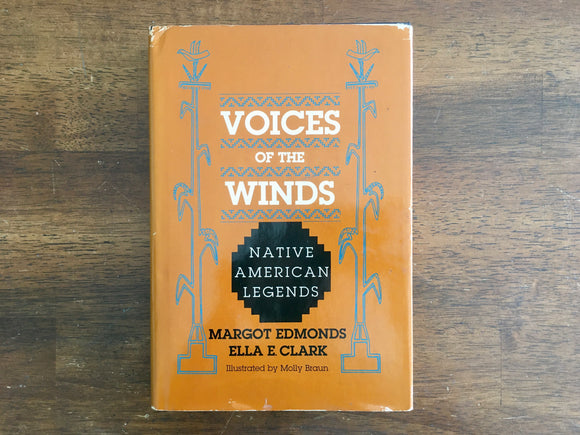 Voices of the Winds, Native American Legends, Vintage 1989, First Printing, HC DJ
